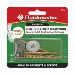 Fluidmaster 7114 Bowl-to-Floor Bolts & Screws