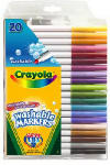 Crayola 58-8106 Super Tips 20-Count Fine Line Marker