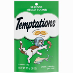 Mars Petcare Us 70122 Whiskas 3-oz. Temptations Seafood Medley Cat Snack