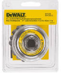 Dewalt Accessories DW4910 3-In. Carbon Steel Knotted Wire Cup Brush