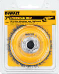 Dewalt Accessories DW4920 3-In. Carbon Steel Crimped Wire Cup Brush