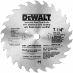 Dewalt Accessories DW3323 7.25-In. 20-TPI Fast-Cut Combination Saw Blade