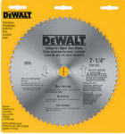 Dewalt Accessories DW3329 Non-Ferrous Metal-Cutting Circular Saw Blade, 7.25-In. x 68TPI