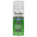 Rust-Oleum 250081 Varathane 12-oz. Outdoor Crystal Clear Gloss Spray