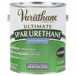 Rust-Oleum 250131 Varathane Gallon Outdoor Crystal Clear Semi-Gloss Finish