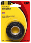 3M 3407NA-BA-6 Electrical Friction Tape, Medium-Grade, .75 x 240-In.