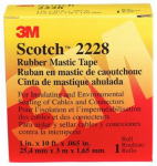3M 2228 Scotch 1-Inch x 10-Ft. Professional-Grade Rubber Mastic Tape