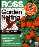 Easy Gardener 15720 Garden Netting, 3/4-In. Diamond/Black Mesh, 14 x 45-Ft.