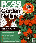 Easy Gardener 15800 Garden Netting, 3/4-In. Diamond/Black Mesh, 14 x 75-Ft.