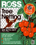 Easy Gardener 15991 Garden Netting, 3/4-In. Diamond/Black Mesh, 26 x 30-Ft.