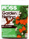 Easy Gardener 16440 Garden Netting, 1-In. Square/Black Mesh, 3 x 50-Ft.