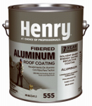 Henry HE555042 Aluminum Roof Coating, Fibered, 1-Gal.