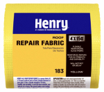 Henry HE183195 Glass Fabric, Yellow Fiberglass, 4-In. x 150-Ft. Roll