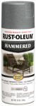 Rust-Oleum 7214-830 Stops Rust Hammered Spray Paint, Gray, 12-oz.
