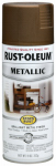 Rust-Oleum 7274-830 Metallic Spray Paint, Antique Brass, 11-oz.