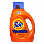 Procter & Gamble 08875 HE Detergent, Liquid, Regular Scent, 50-oz.