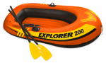 Intex Recreation 58331EP Explorer 200 2-Person Boat Set, 73 x 37-In.