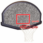 Huffy Sports 80348 48-Inch Eco-Composite Fan Shape Backboard Combo