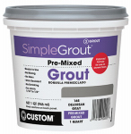 Custom Bldg Products PMG180QT Qt. Sandstone Pre-Mixed Grout