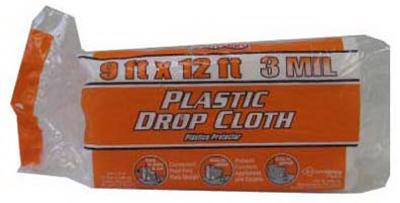 BERRY PLASTICS CORP 9x12 3Mil Drop Cloth