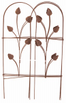Panacea Products Corp-Import 89363 Brown Garden Fence, 32-In. x 8-Ft.