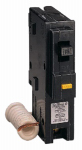 Square D By Schneider Electric HOM115GFICP 15A Single-Pole Ground Fault Circuit Breaker