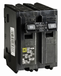 Square D By Schneider Electric HOM220CP 20A Double-Pole Circuit Breaker