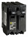 Square D HOM240CP 40A Double Pole Circuit Breaker