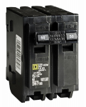 Square D HOM250CP 50A Double Pole Circuit Breaker