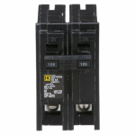 Square D HOM2125CP 125A Double Pole Circuit Breaker