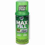 Convenience Prod 7565000031 Touch 'N Foam Max Fill Insulating Foam, Triple Expansion, 12-oz.