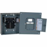 Square D QO112-20M100C 100A Main Breaker Installed Load Center