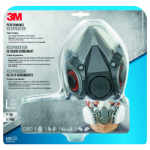 3M 6311PA1-A Large Paint Spray & Pesticide Respirator
