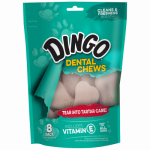 Spectrum Brands Pet P-28008 Denta Dog Treats, 8-Pk. Regular