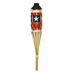 Lamplight Farms 1113046 Americana Bamboo Torch Display