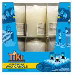 Lamplight Farms 1412143 Tiki Citronella White Votive