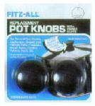 Fox Run Craftsmen 581 Replacement Pot Knob, Large, 2-Pk.