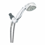 Delta Faucet 75701 Maximum Flow 7-Spray/Massage Rubbed Clean Showerhead, Handheld, Chrome, 2.0-GPM