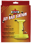 Central Life Science 3006166 Fly Bait Station For Use With Fly Control Scatter Baits