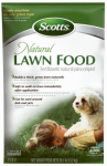 Scotts Lawns 47503 Natural Lawn Food Fertilizer, 11-2-2, Covers 4,000-Sq.-Ft.