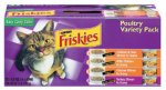 American Distribution & Mfg 45424 Cat Food Pack, Poultry Variety, 32-Ct. Cans