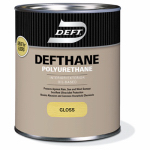 Deft/Ppg Architectural Fin DFT21/04 Polyurethane Finish, Clear Gloss, 1-Qt.