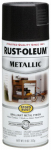 Rust-Oleum 7250-830 Metallic Spray Paint, Black Night, 11-oz.