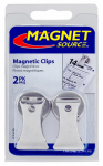 Master Magnetics 07219 2-Piece Handy Clips -3-Lb. Pull