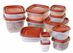 Rubbermaid 1779217 Food Containers with Easy Find Lids, 24-Pc. Set