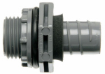 Thomas & Betts LN43DA-CTN 1/2-Inch Straight Non-Metallic Liquid Tight Connector