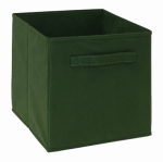 Closetmaid 78700 Cubeicals Woven Fabric Drawer, Hunter Green
