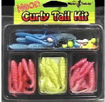 Maurice Sporting Goods CTN-1 Fishing Lure Kit, Curly-Tail Neon, 33-Pc.