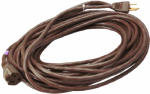 Ho Wah Gentin Kintron Sdnbhd 02356-07ME Extension Cord, 16/3 SJTW Round Vinyl Brown Outdoor,  40-Ft.