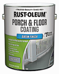 Rust-Oleum 244054 Porch & Floor Finish, 1-Gallon, Satin Dove Gray